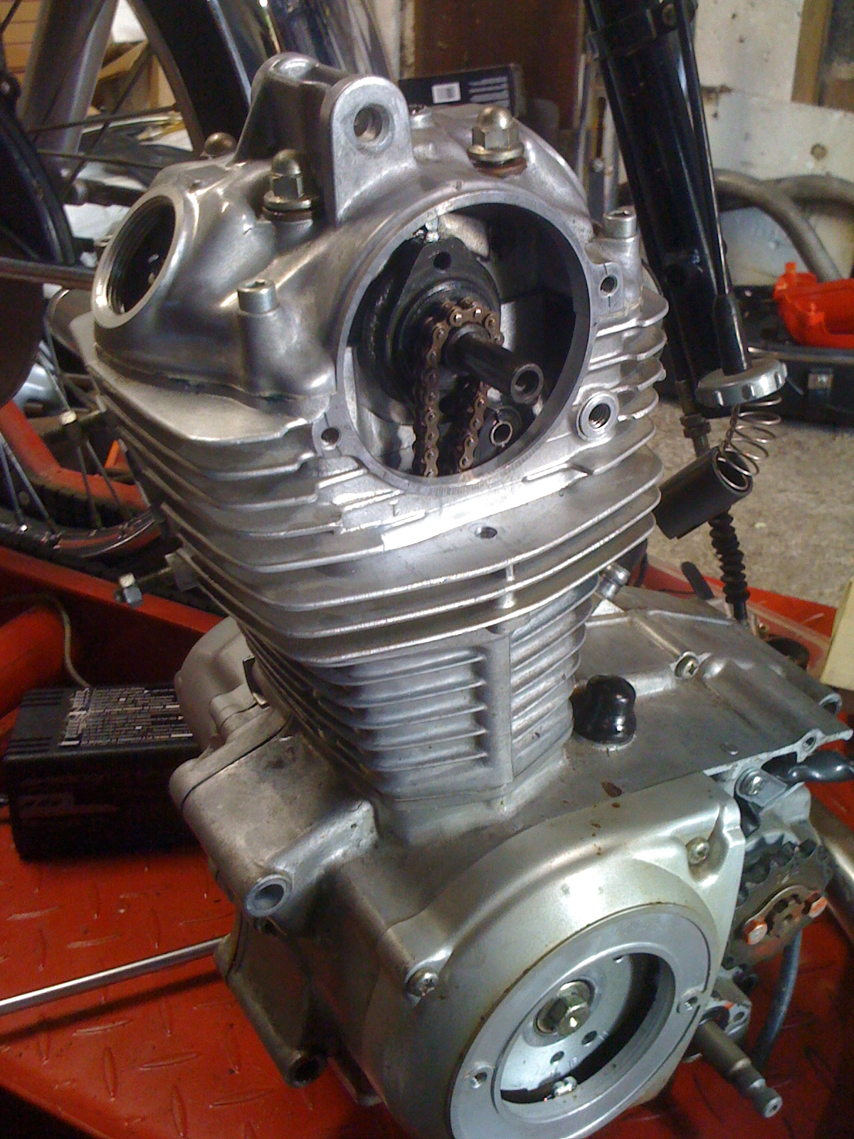 Engine Buttoned Up
